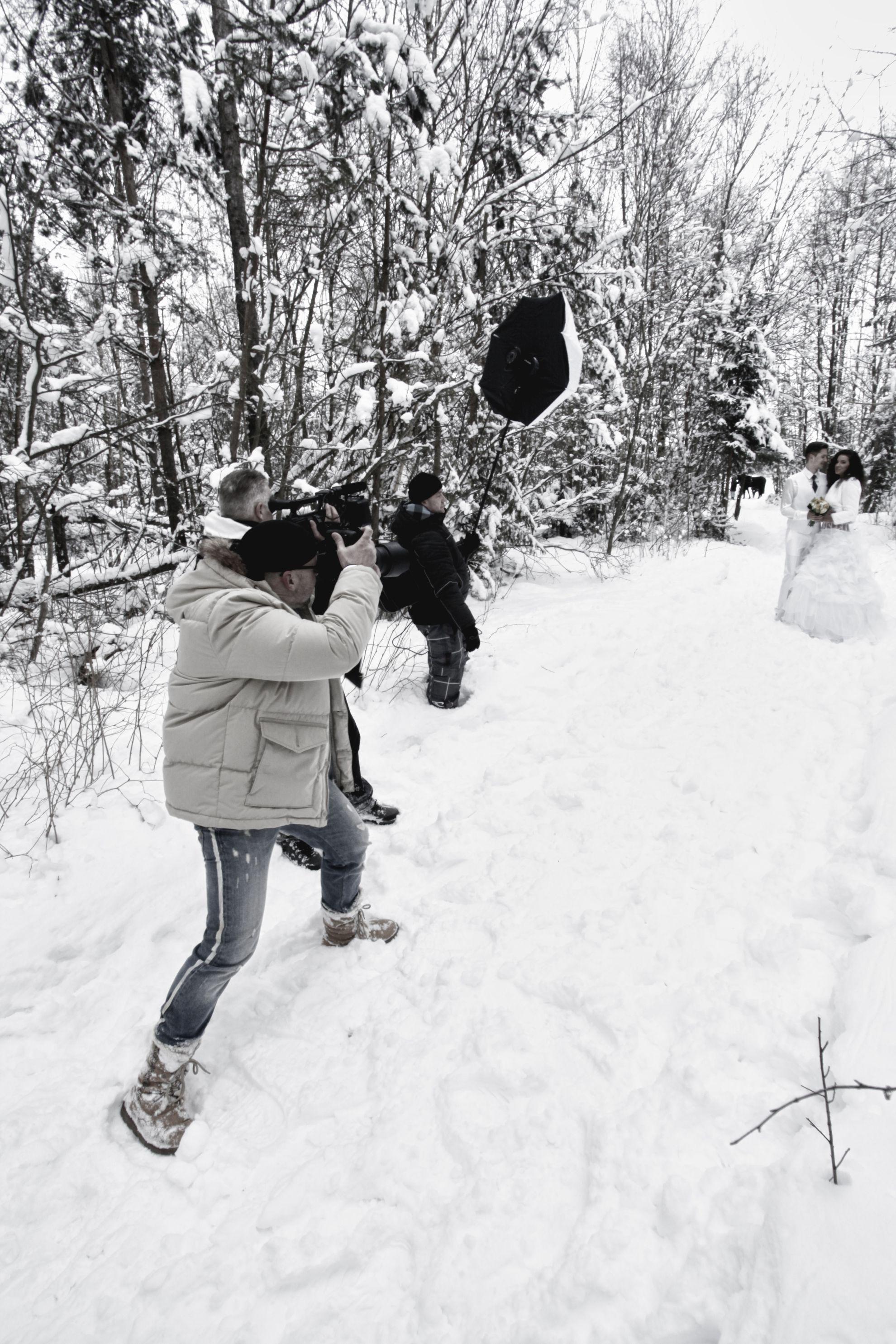 Svadba Tatry Zima 2013 – zo zákulisia
