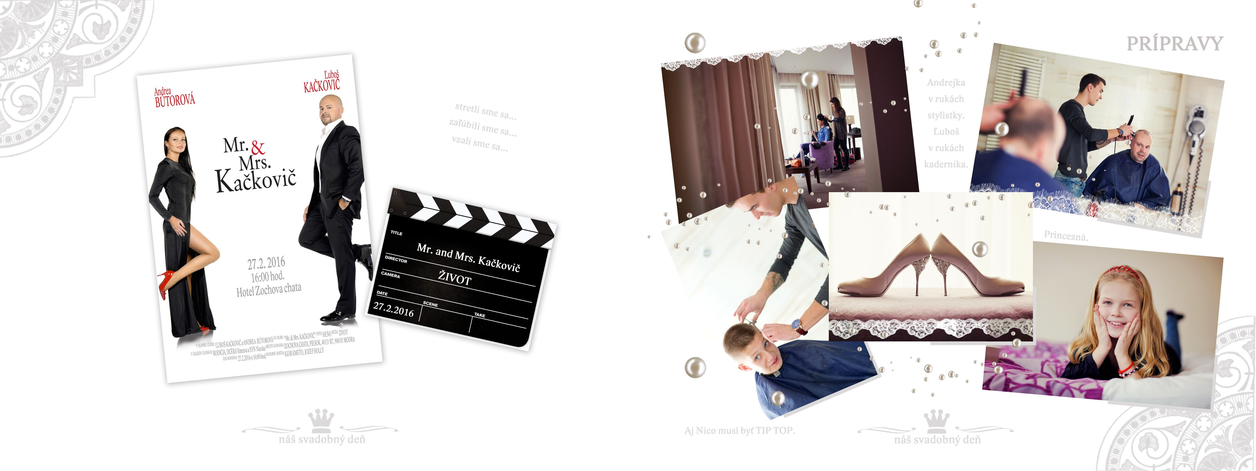 Svadobná foto – kniha