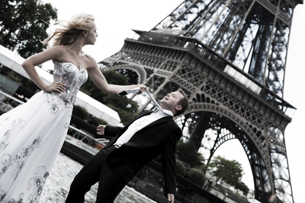 Svadobný víkend v Paríži